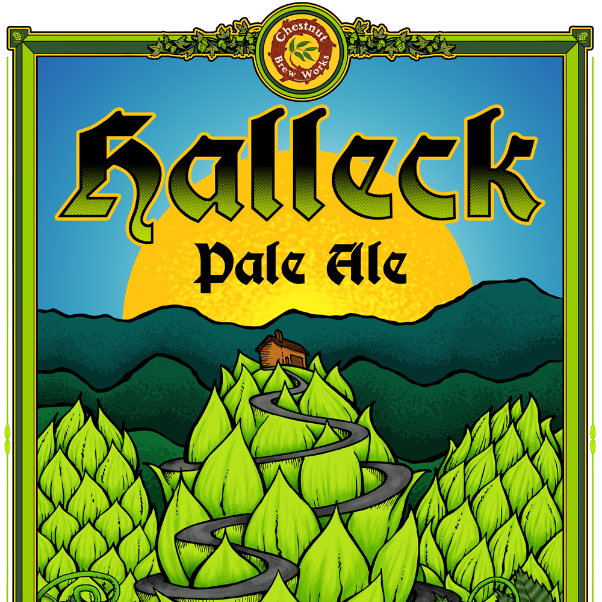 Halleck Pale Ale 6.0%