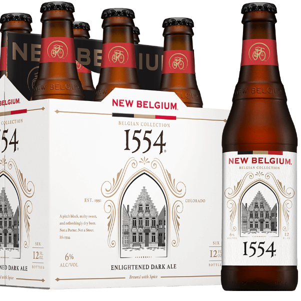 New Belgium 1554 Black Lager 5.6%