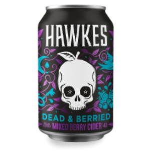 Hawkes Dead and Berried Mixed Berry Cider