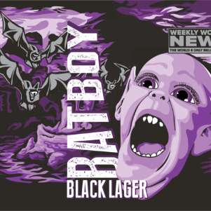 Bat Boy Black Lager