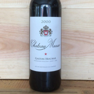 2000 Chateau Musar Red