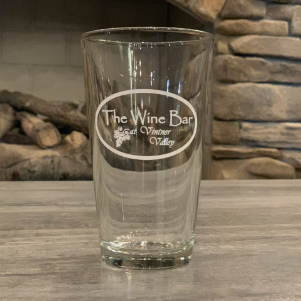 Branded Water Glass