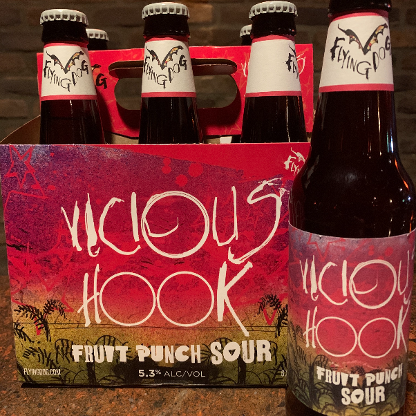 Flying Dog Vicious Hook Fruit Punch Sour